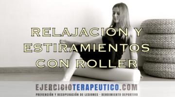 ejercicio terapeutico roller ejer