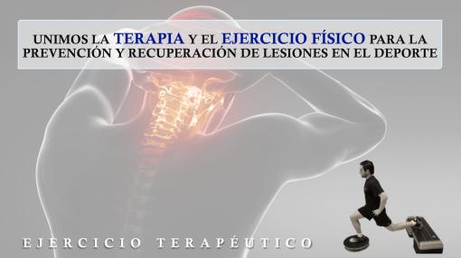 ejercicio terapeutico rehabilitacion lesiones deporte