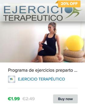 programa ejercicios pre-parto ejercicio terapéutico