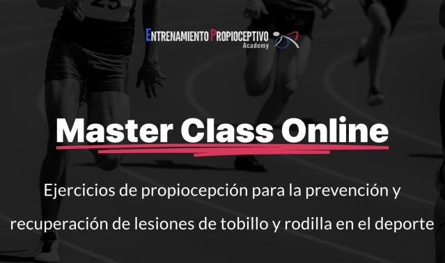 Master Class online entrenamiento propioceptivo